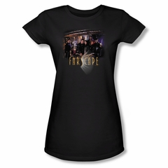 FarScape Shirt Cast Juniors Shirt Tee T-Shirt