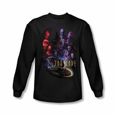 FarScape Shirt Criminal Long Sleeve Tee T-Shirt
