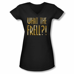 FarScape Shirt Frell Juniors V Neck Shirt Tee T-Shirt