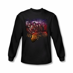 FarScape Shirt Graphic Collage Long Sleeve Tee T-Shirt