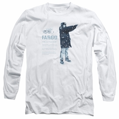 Fargo Long Sleeve Shirt This Is A True Story White Tee T-Shirt