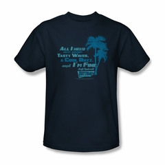 Fast Times At Ridgemont High Shirt All I Need Adult Navy Tee T-Shirt