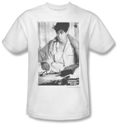 Ferris Bueller's Day Off Shirt Cameron Adult White Tee T-Shirt