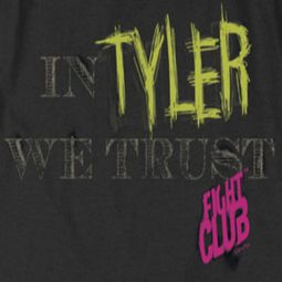 Fight Club In Tyler We Trust Shirts