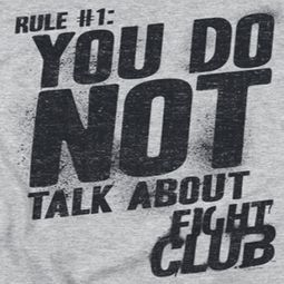 Fight Club Rule 1 Shirts