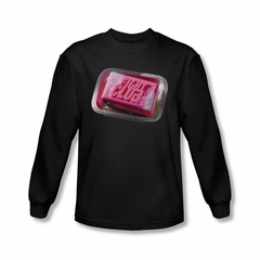 Fight Club Shirt Soap Long Sleeve Black Tee T-Shirt