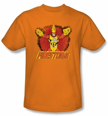 Firestorm Kids T-shirt - Ring Of Firestorm Dc Comics Orange Tee Youth