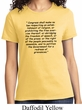 First Amendment Ladies Shirt