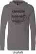 First Amendment Lightweight Hoodie Tee