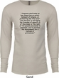 First Amendment Long Sleeve Thermal Shirt