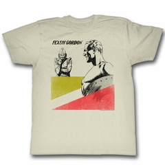 Flash Gordon Shirt Laughable Natural T-Shirt