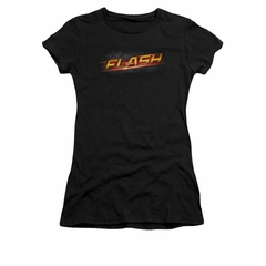 Flash Shirt Juniors Logo Black T-Shirt
