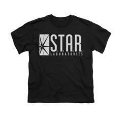 Flash Shirt Kids Star Labs Black T-Shirt