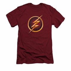 Flash Shirt Slim Fit Lightning Bolt Cardinal T-Shirt