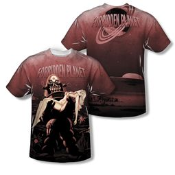 Forbidden Planet Shirt Poster Sublimation Youth Shirt