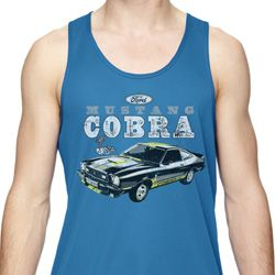 Ford 1974 Cobra Profile Mens Moisture Wicking Tanktop