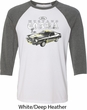 Ford 1974 Cobra Profile Mens Raglan Shirt