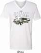 Ford 1974 Cobra Profile Mens V-Neck Shirt