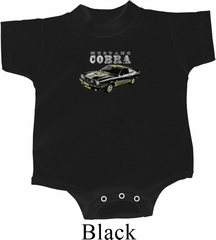 Ford 1974 Cobra Profile Middle Print Baby Onesie