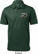 Ford 1974 Cobra Profile Pocket Print Mens Textured Polo Shirt