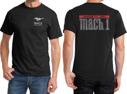 Ford 50 Years Mach 1 Front & Back Shirts