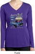 Ford American Muscle 1967 Mustang Ladies Dry Wicking Long Sleeve Shirt
