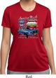 Ford American Muscle 1967 Mustang Ladies Moisture Wicking Shirt