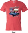 Ford American Muscle 1967 Mustang Mens Tri Blend V-neck Shirt