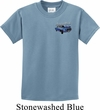 Ford American Muscle 1967 Mustang Pocket Print Kids Shirt