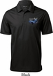 Ford American Muscle 1967 Mustang Pocket Print Mens Textured Polo
