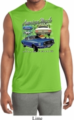 Ford American Muscle 1967 Mustang Sleeveless Mens Dry Wicking Shirt