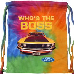 Ford Bag Mustang Who's The Boss Tie Dye Bag