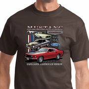 Ford Classic Mustangs Untamed Mens Shirts