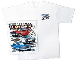 Ford FACTORY FLYERS Classic Car T-shirt