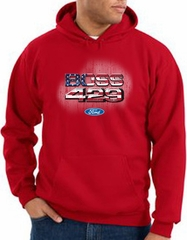 Ford Hoodie Mans Best Friends Hoody Red