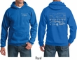 Ford Hoodie Mustang with Grill (Front & Back) Hoody