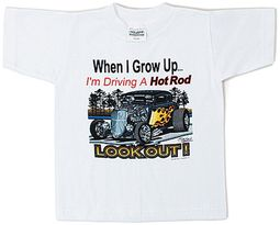 Ford Hotrod Kids Youth Tee Shirt