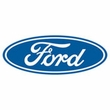 Ford Logo Tank Top - Oval Emblem Classic Car Adult Navy Tanktop