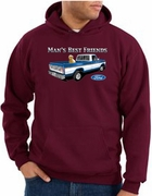 Ford Man's Best Friends Pullover Hooded Sweatshirts