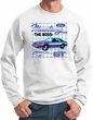 Ford Mustang Boss GT Mens Sweatshirt