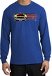 Ford Mustang Boss Long Sleeve Shirt - 302 Yellow Mustang Royal T-Shirt