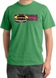 Ford Mustang Boss Pigment Dyed T-Shirt - 302 Mustang Adult Piper Green