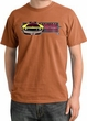 Ford Mustang Boss Pigment Dyed T-Shirt - 302 Mustang Burnt Orange Tee