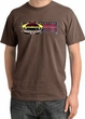 Ford Mustang Boss Pigment Dyed T-Shirt - 302 Yellow Mustang Chestnut