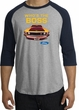 Ford Mustang Boss Raglan Shirt - Who's The Boss 302 Heather Grey/Navy