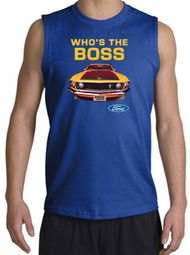 Ford Mustang Boss Shirt Whos The Boss 302 Muscle Shirts