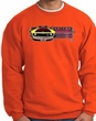 Ford Mustang Boss Sweatshirt - 302 Yellow Mustang Orange Sweat Shirt