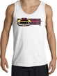 Ford Mustang Boss Tank Top - 302 Yellow Mustang Adult White Tanktop