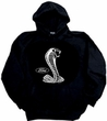 Ford Mustang Cobra Hoodie Hooded Sweatshirt - Adult Hoody