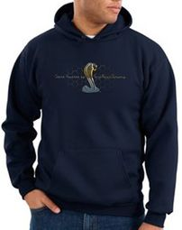Ford Mustang Cobra Hoodies - Motor Company Grill Adult Hoodys